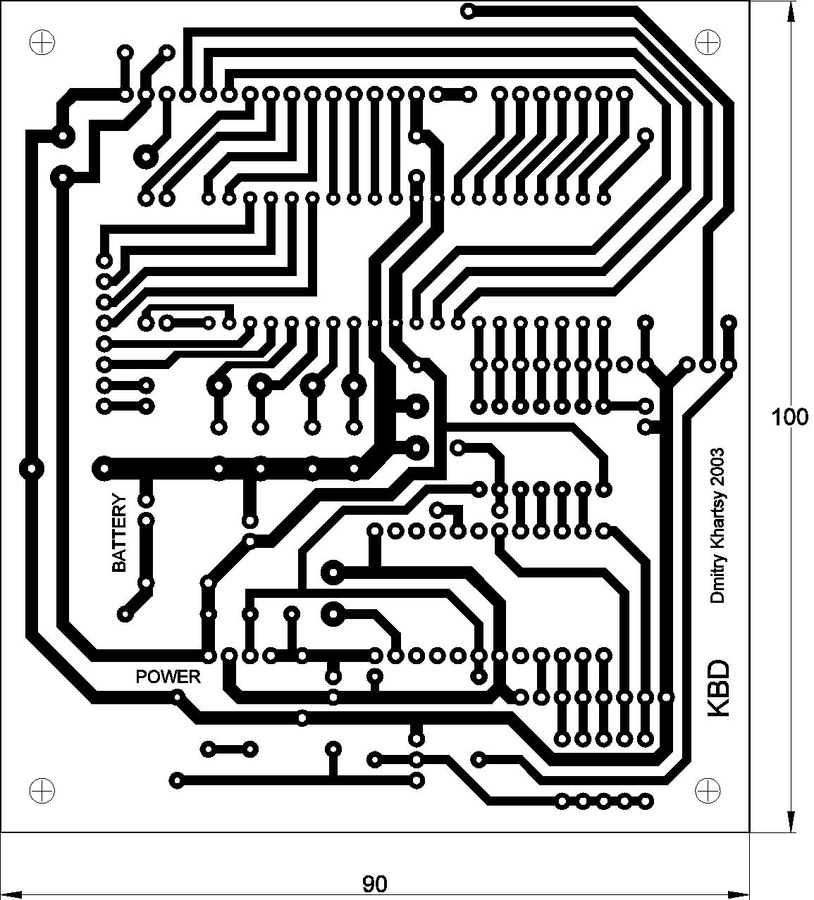 Схема белого телевизора