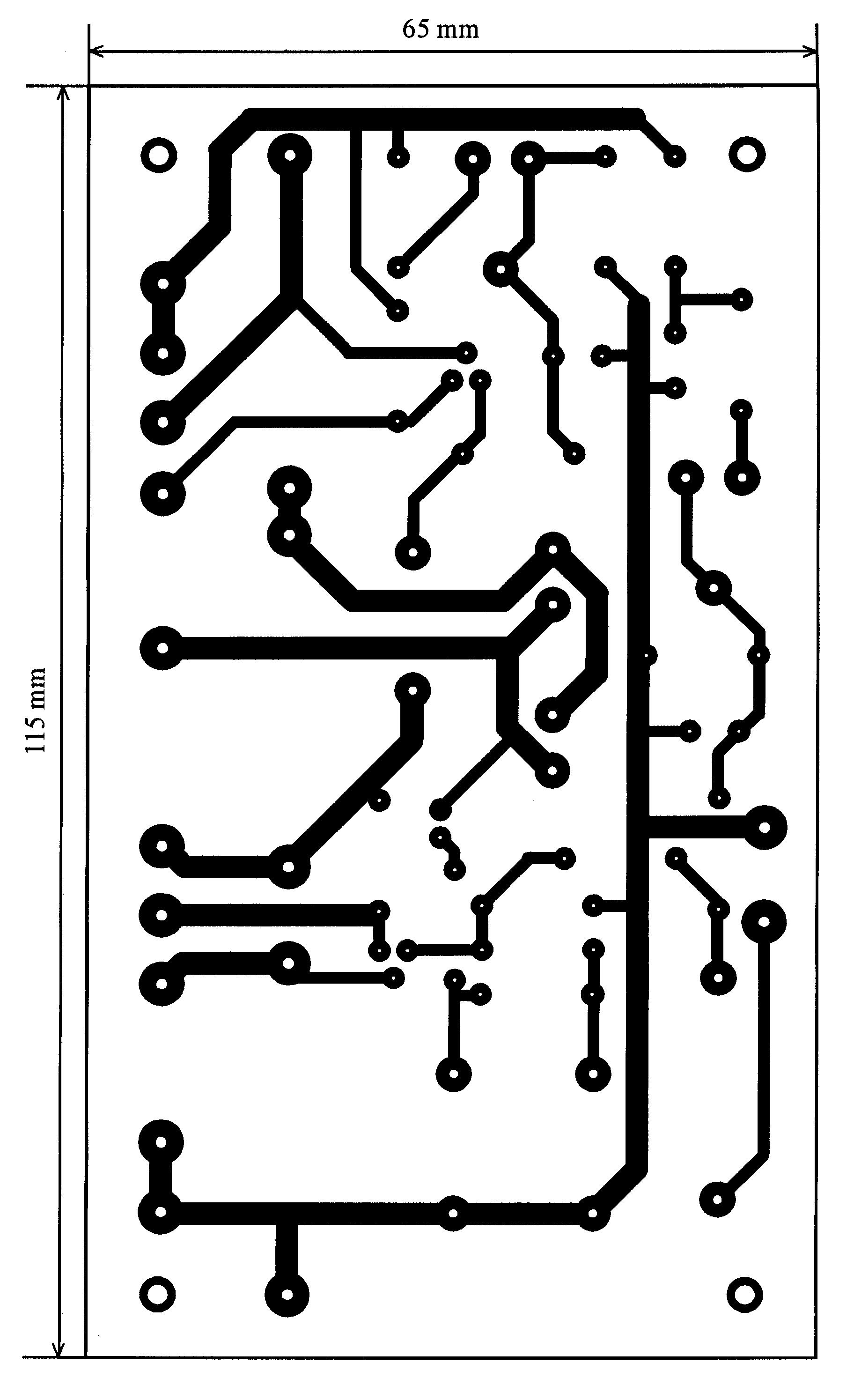 схема гирлянды управляемой звуком